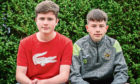 Twin brothers Declan (left) and Calum Ring
