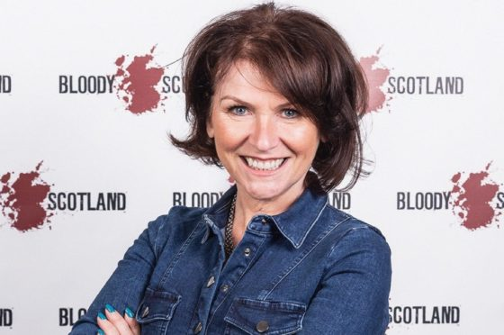 Broadcaster, podcaster and crime writer Theresa Talbot, host of The Tartan Noir Show