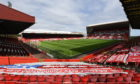 Pittodrie will welcome fans this weekend
