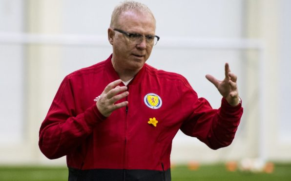 Former Scotland gaffer Alex McLeish