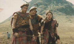 On the set of Highlander