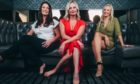 "All female estate agency, Manor Estate Agency - dubbing them Scotland's version of Netflix TV show, ""Selling Sunset"". L-R: Jane McCluskey, Sandra Hill, Claire Hart."