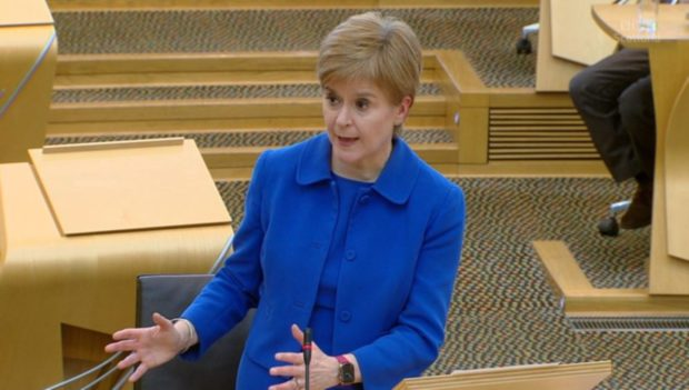 Nicola Sturgeon has said another full lockdown will not happen as she is expected to announce further restrictions tomorrow.