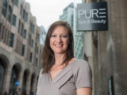 Becky Woodhouse, founder and CEO of PURE Spa and Beauty.