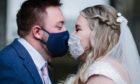Ethan and Jessica Bailey marry at Edinburgh Registrar's Office.