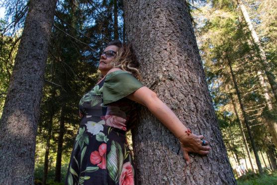 There are plenty of trees to hug, says Margherita De Carli