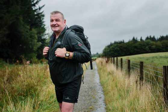 Charlie Kavanagh has walked the West Highland Way almost 60 times.