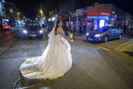 Bride in Glasgow's West End doesn't let 10pm curfew spoil wedding day