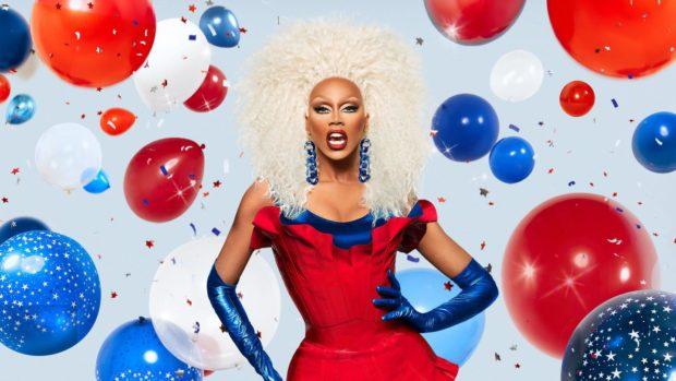 RuPaul, whose Drag Race show made drag mainstream