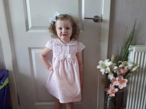 Harper Mullen, who died last year after she contracted sepsis.