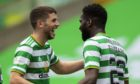 Celtic's Odsonne Edouard and Ryan Christie
