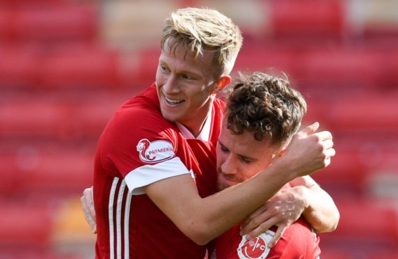 Ross McCrorie and Marley Watkins have been at the heart of all that has been good about Aberdeen during their fine start to the season