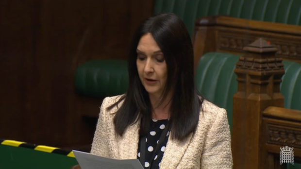 Margaret Ferrier in the House of Commons