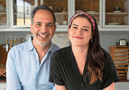 Israeli-born chef Yotam Ottolenghi and fusion cook Ixta Belfrage collaborate on Flavour