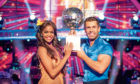 Last year's champion Kelvin Fletcher with Oti Mabuse