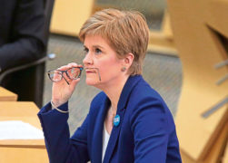 Sturgeon to announce five-tier plan of coronavirus measures for Scotland