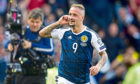 Craig Brown would love to see Leigh Griffiths get his chance to show Steve Clarke what he could bring to Scotland
