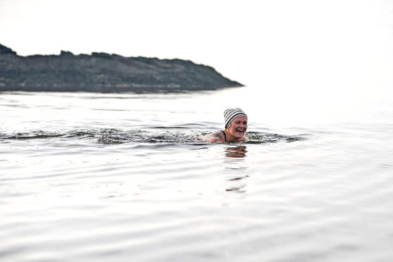 Mental health expert Jo Fraser recommends wild swimming to help beat the winter blues.