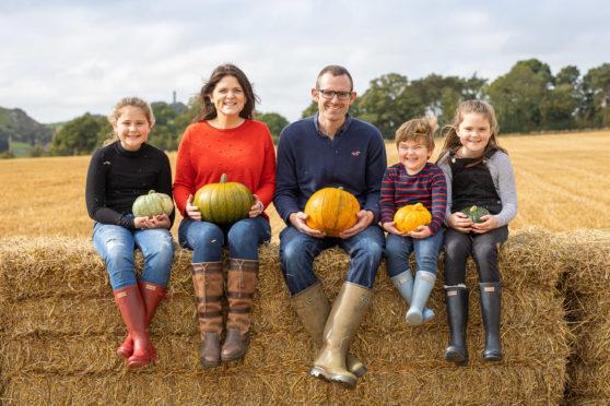 The Calder family on Kilduff Farm, East Lothian