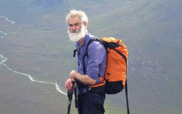 Nick Gardner, 80, is aiming to climb all 282 Munros to raise money in support of Alzheimer Scotland and the Royal Osteoporosis Society, after his wife Janet was diagnosed with both conditions.