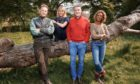 Autumnwatch 2020 presenters (left to right) Chris Packham, Michaela Strachan, Iolo Williams and Gillian Burke