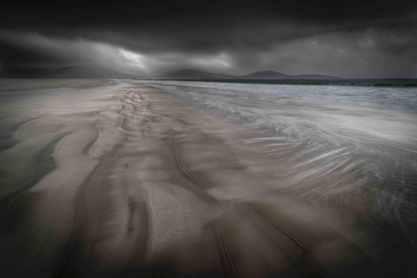 Bill Ward, 'Incoming Storm, Luskentyre'