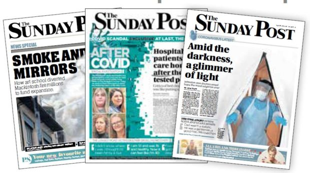 The Sunday Post prides itself on informed, quality journalism, week after week.