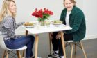Lewis Capaldi on a blind date.