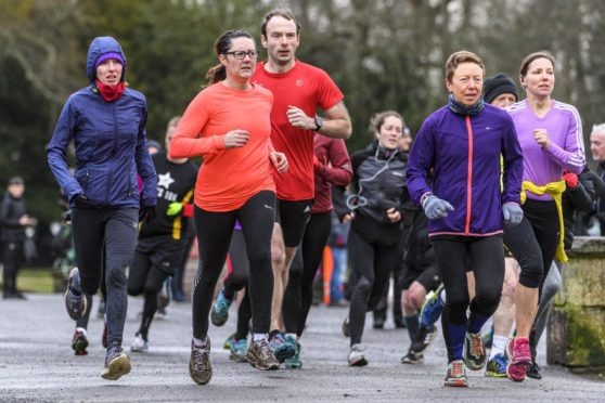 Falkirk ParkRun, early 2020