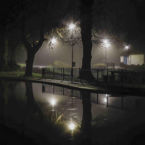 Hannah Faith Jackson, 'Night Falls on Strathaven'