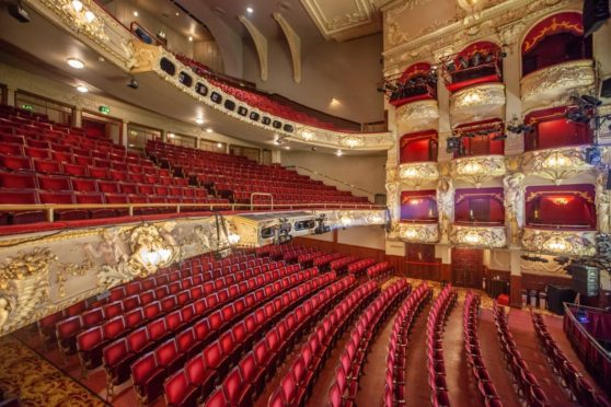 Edinburgh's King's Theatre, operated by Capital Theatres.
