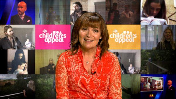Lorraine Kelly will host the STV Children's Appeal