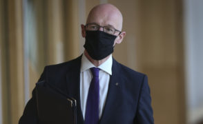 Coronavirus briefing: John Swinney gives new advice on face coverings in schools