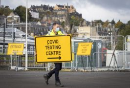Scotland's weekly coronavirus deaths at lowest level since early October