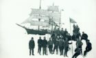 William Speirs Bruce and the crew of the Scotia on Coats Land in the Antarctic