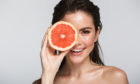 Delicious vitamin sources such as grapefruit nourish our bodies