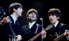 Paul, John, and George return to the London Palladium in 1964 after their landmark performance the year before