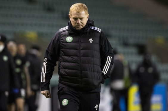 Neil Lennon wasn't happy with his team's performance at Easter Road