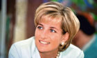 Diana, Princess of Wales during a visit to Leicester.