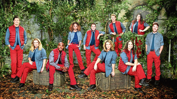 This year's I'm A Celebrity, Get Me Out Of Here cast.
