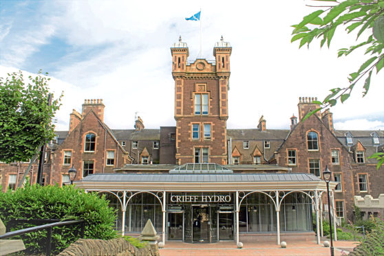 Crieff Hydro is the perfect stay for all the family.
