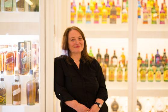 Johnnie Walker archivist, Christine McCafferty.