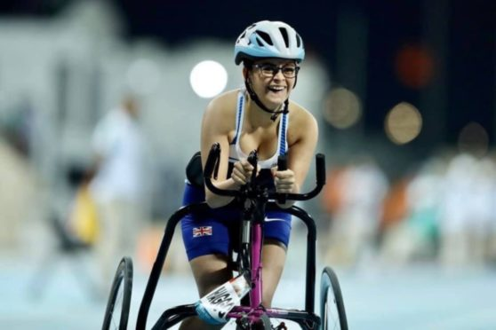 Kayleigh Haggo became the first 100m world champion in race running.