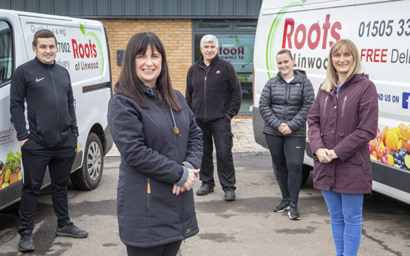 Roots of Linwood won a High Street Heroes Awards