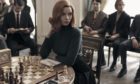 Actress Anya Taylor-Joy stars as chess prodigy Beth Harmon, an orphan facing a showdown with a Russian grand master