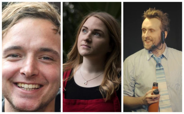 Joe Cameron, Laura Young and Matt Winning are among the many Scots hoping to make a difference