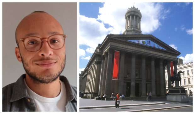 Miles Greenwood will be working in cultural institutions including the Glasgow Gallery of Modern Art