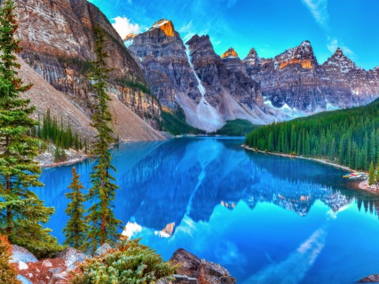The Canadian Rockies, Canada.