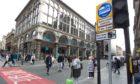 Bus gate on Glasgow's Union Street
