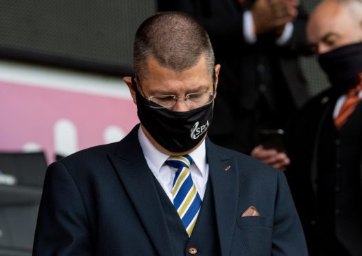 SPFL chief executive, Neil Doncaster, has suffered a torrid year.